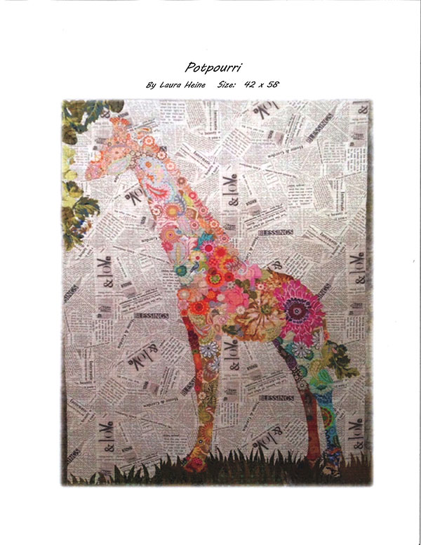 Potpourri Giraffe by Laura Heine