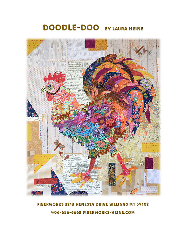 Doodle-Doo Pattern / Laura Heine