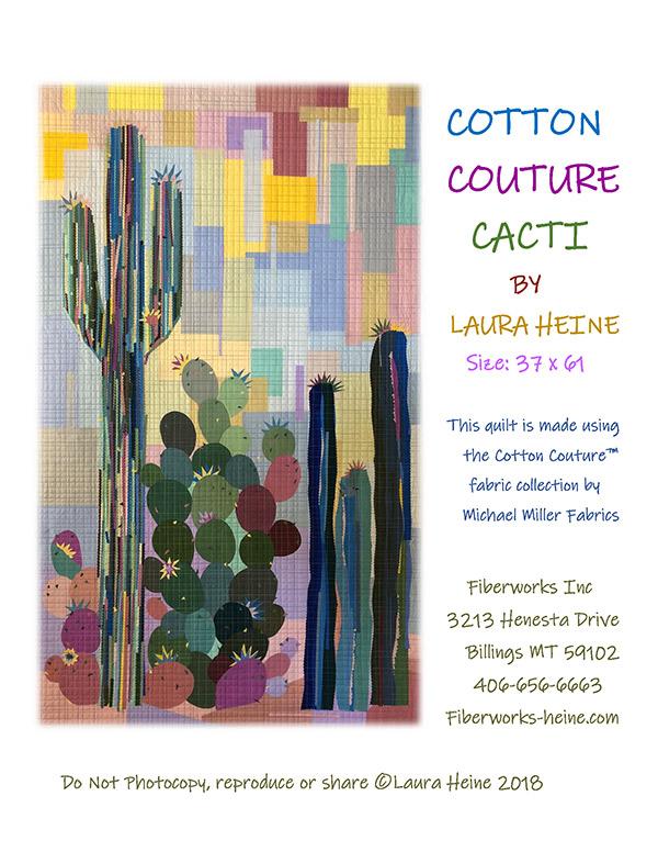 Collage - Cotton Couture Cacti