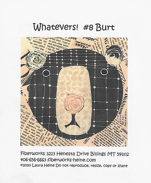Whatevers #8 Burt by Laura Heine