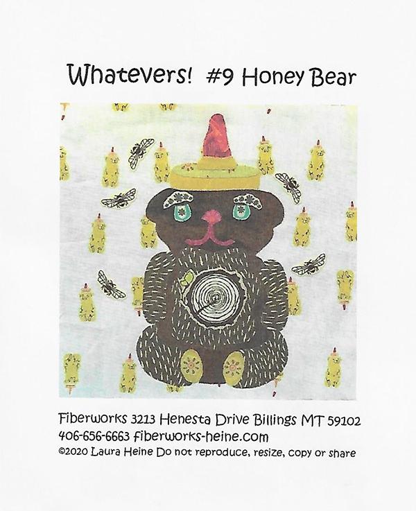 Whatevers #9 Honey Bear