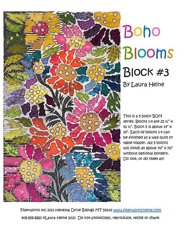 Boho Blooms #3 Pattern