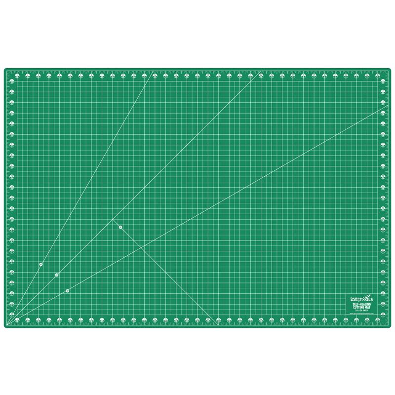 Self Healing Cutting Mat 24x36 Double Sides Green/Black