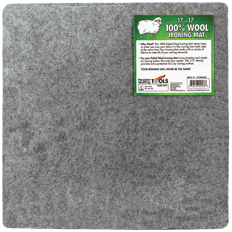 Wool Ironing Mat 17 x 17