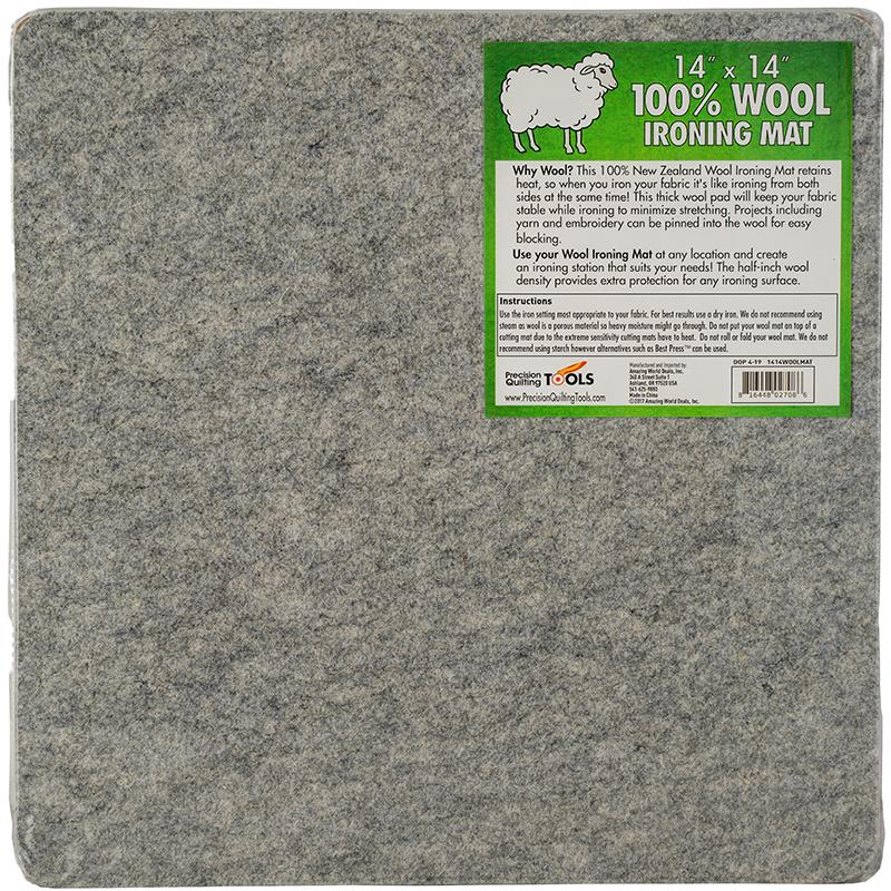 Wool Ironing Mat 14 x 14