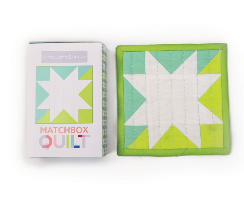 Matchbox Quilt Kit Aqua MB1