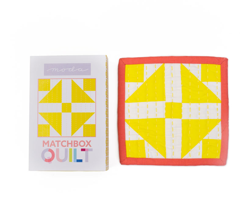 Matchbox Quilt Kit Yellow