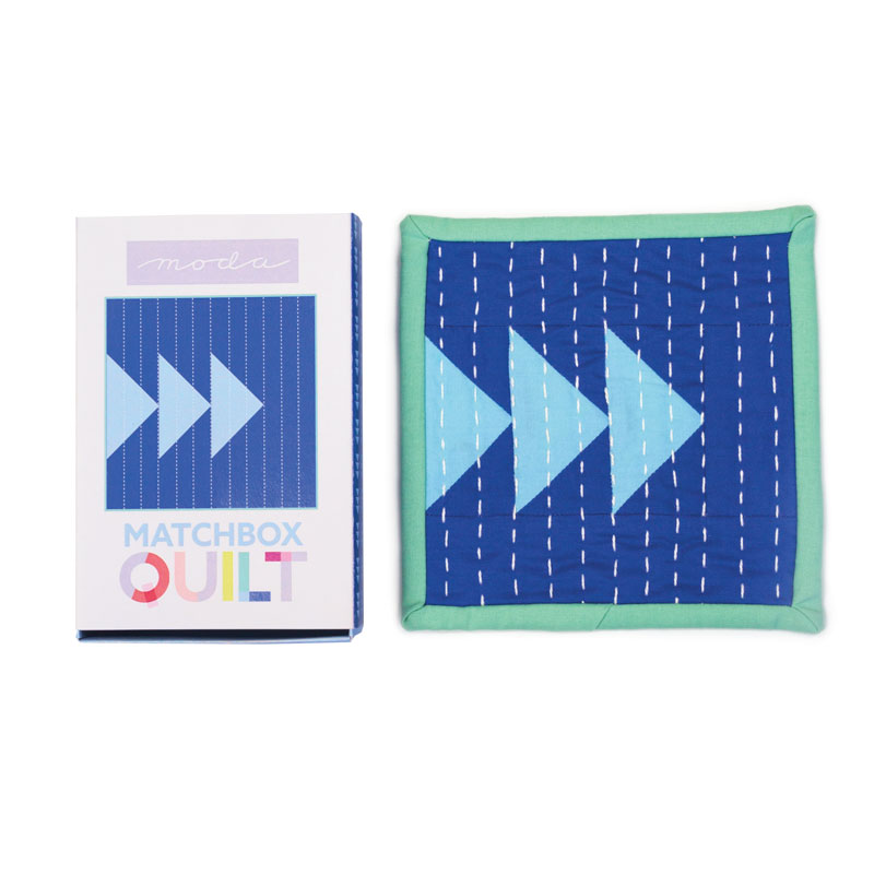 Matchbox Quilt Kit - Blue