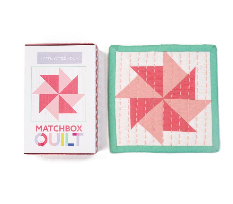 Matchbox Quilt Kit Coral