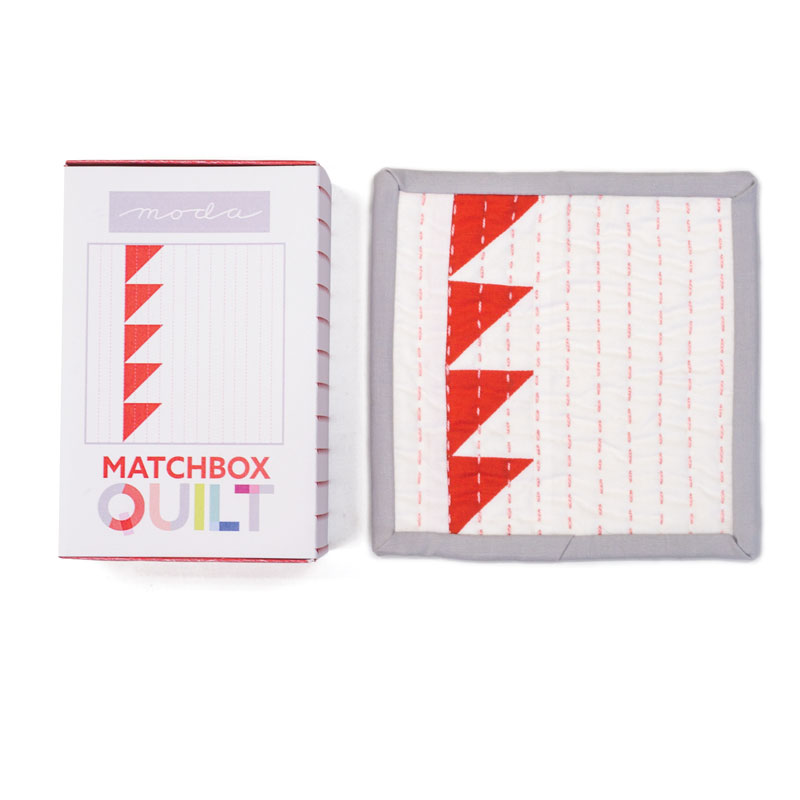 Matchbox Quilt Kit Red MB6