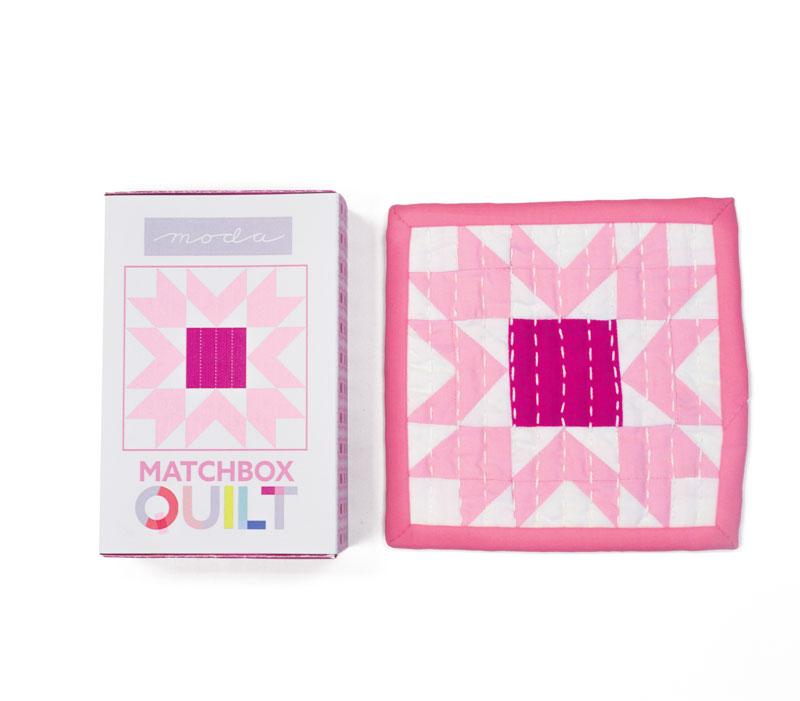 Matchbox Quilt Kit #9 Violet