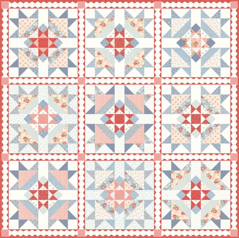 Victoria Pattern 72 X72