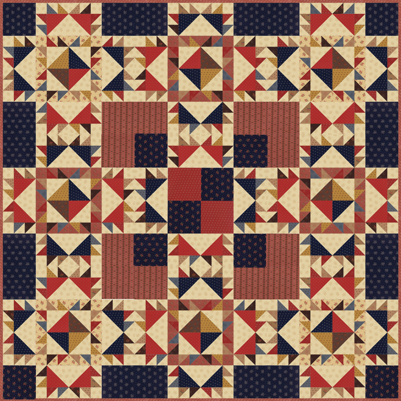 Hickory Road Quilt Kit *SALE