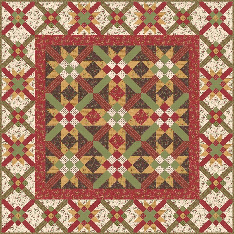 Glad Tidings quilt kit
