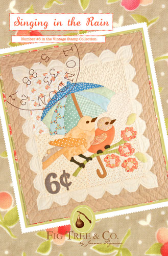 Singing In The Rain Wall Quilt Pattern