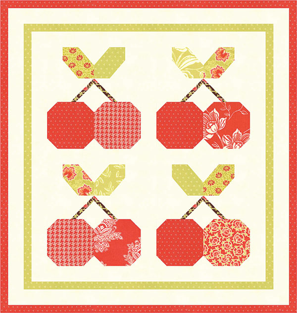 Mini Cherry Pie Pattern