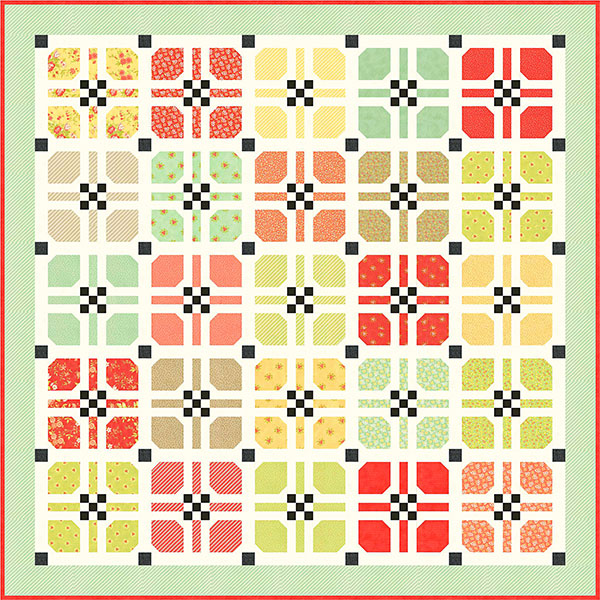 Hopscotch Pattern by Fig Tree Quilts
