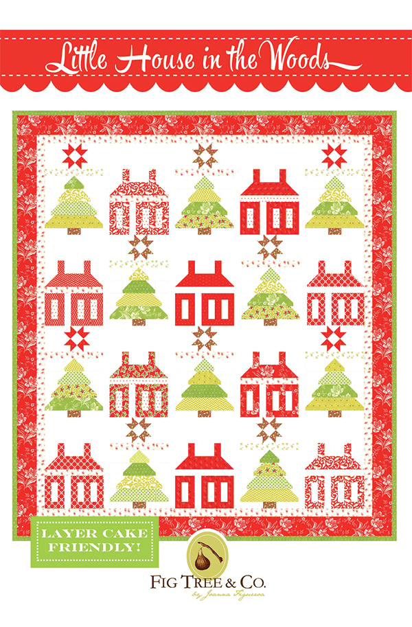 Little House In The Woods quilt kit