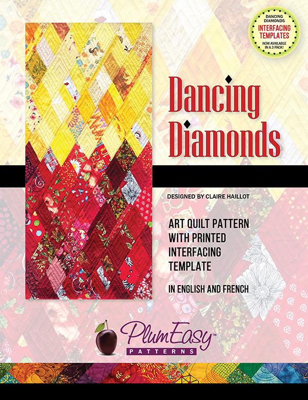 Dancing Diamonds Art Quilt