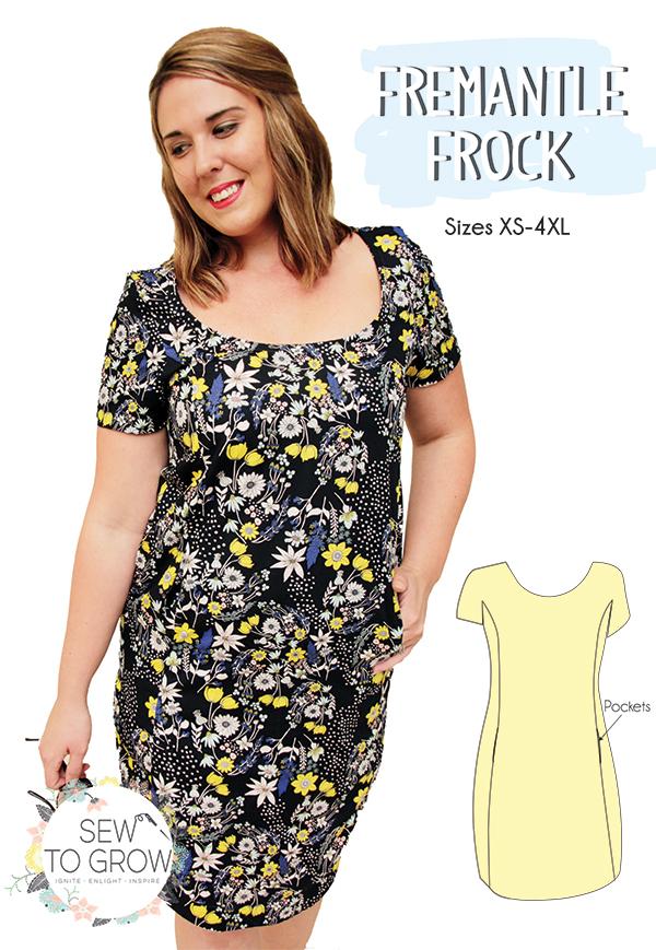 Sew To Grow Fremantle Frock
