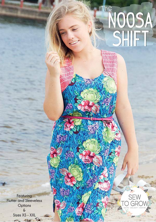Noosa Shift - Sew to Grow Designs