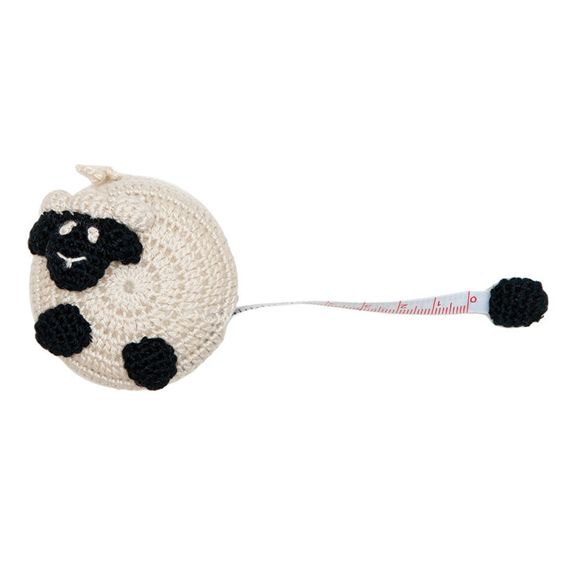 Crocheted Tape Measure Sheep