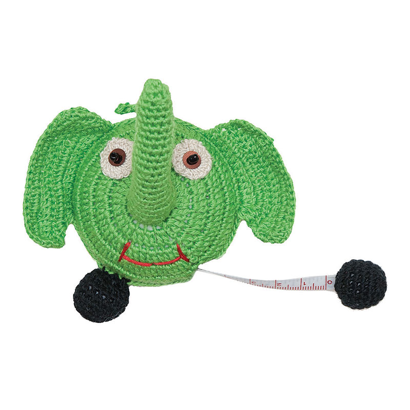 Crochet Elephant Tape Measure