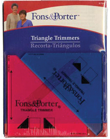 Triangle Trimmers 1/2 & 1/4 Sq