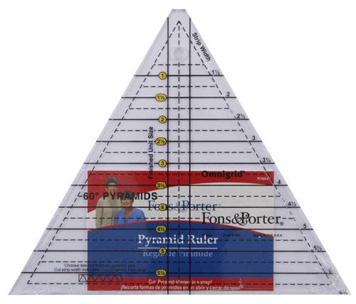 Pyramid Ruler