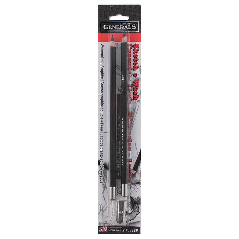 Sketch & Wash Pencils 2 pk