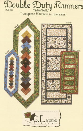 Double Duty Table Runners-G.E. Designs - GE-205