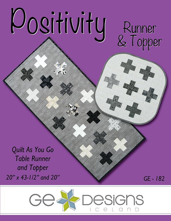Pattern - Positivity Topper/Runner