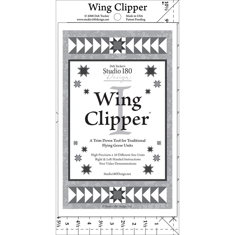 Wing Clipper - Deb Tucker's Studio 180 Design^+