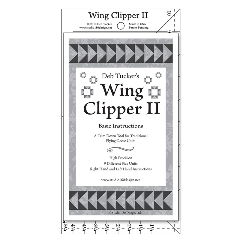 Deb Tucker Wing Clipper II DT08 by Studio 180 Design