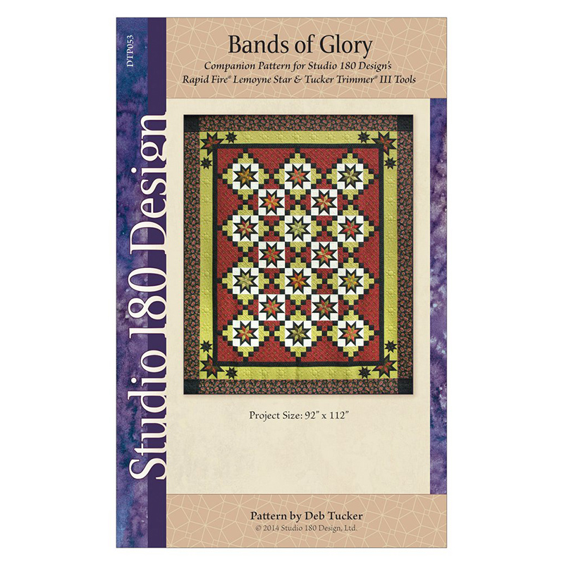 Bands Of Glory Pattern by Deb Tucker DTP053 *