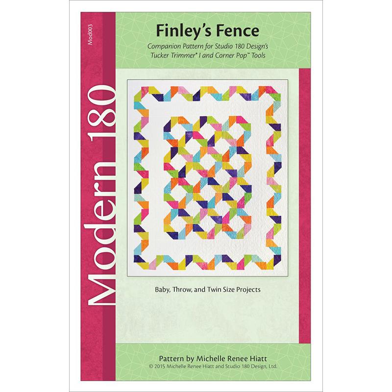 Finley's Fence Pattern by Michelle Hiatt