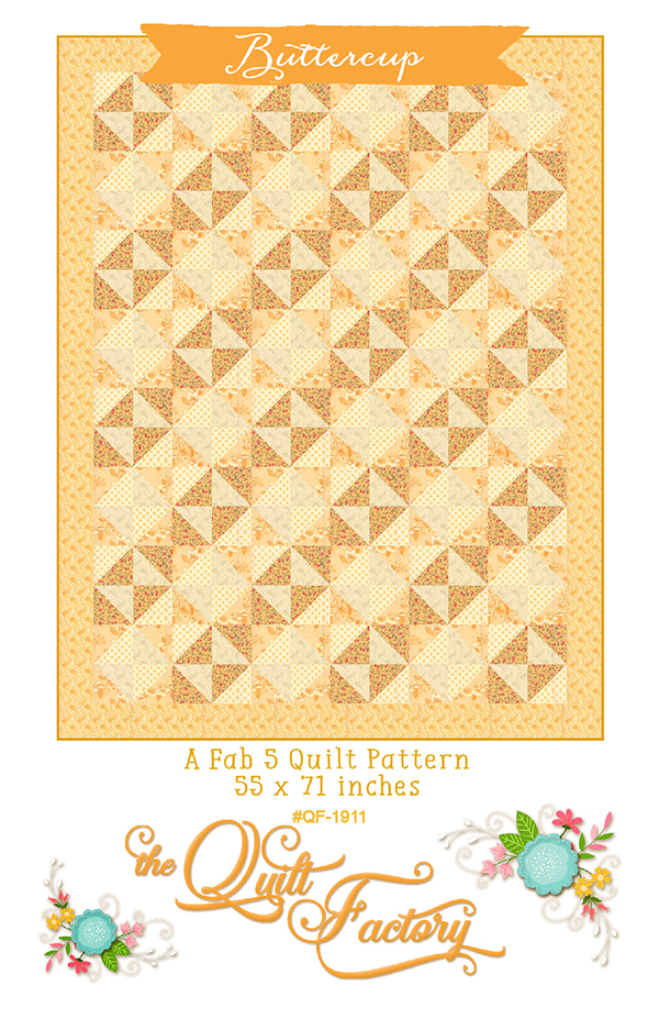 Buttercup Pattern by the Quilt Factory
