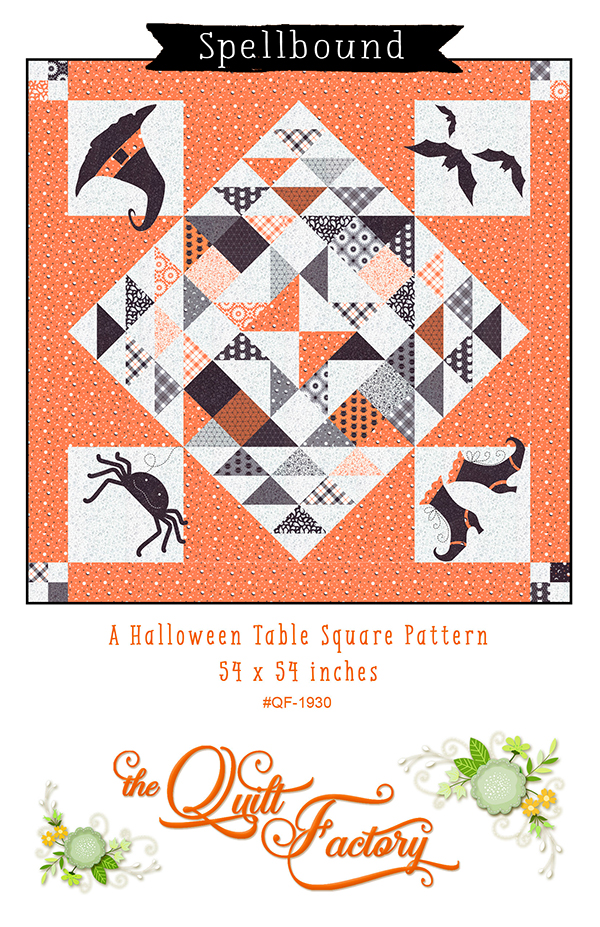 Spellbound Halloween Table Square Pattern 54 x 54