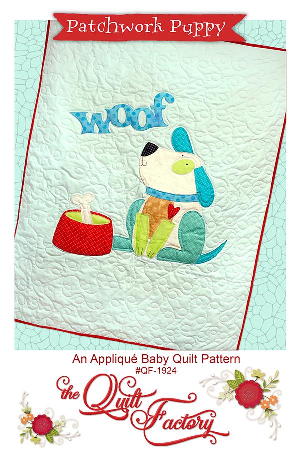 Patchwork Puppy Pattern