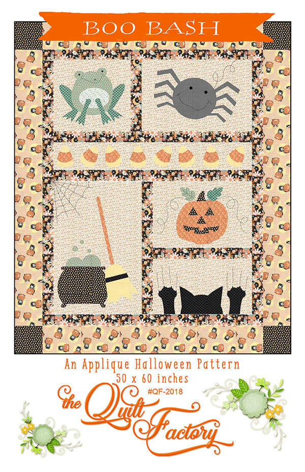 *PRE-ORDER* Pattern, Boo Bash