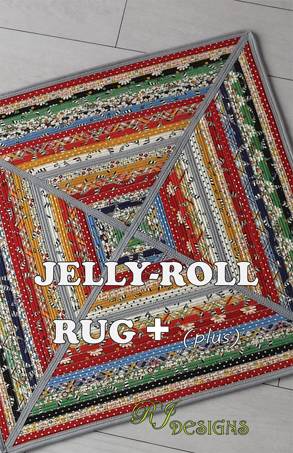 Jelly Roll Rug Plus