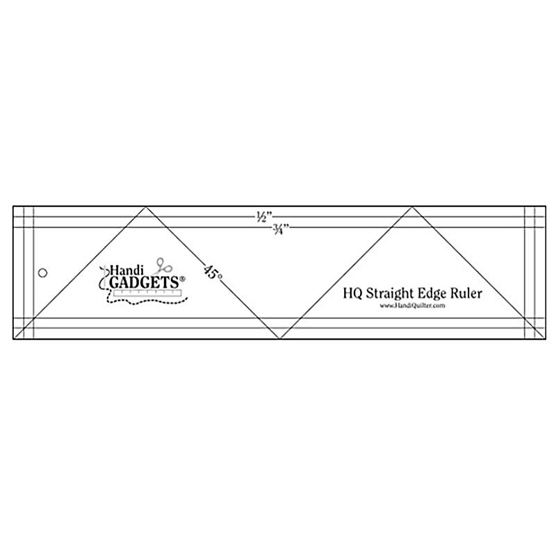 HQ Straight Edge Ruler 3x12 HG00358