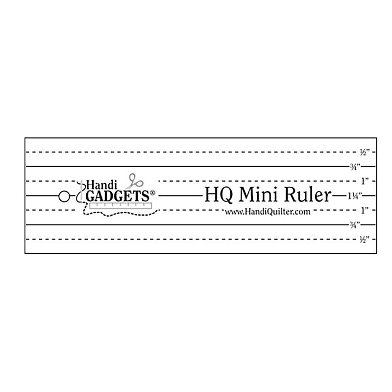 HQ Mini Ruler 2 x 6