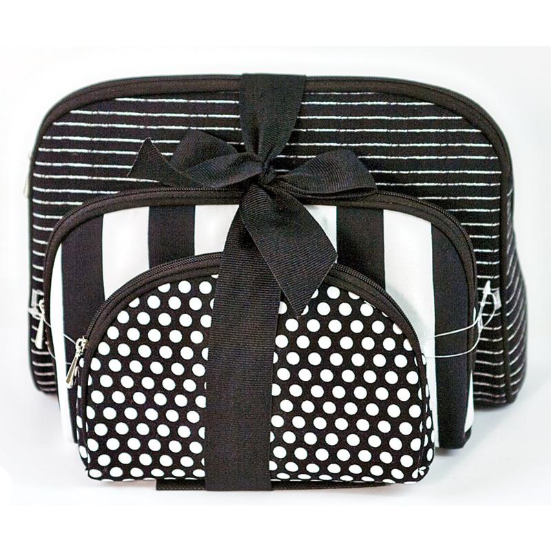 Notion Travel Bag Blk/Wht 3ct