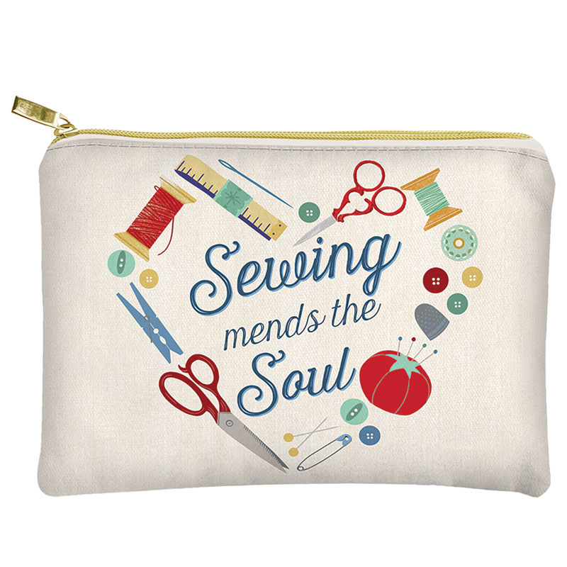 Glam Bag Sewing Mends The Soul