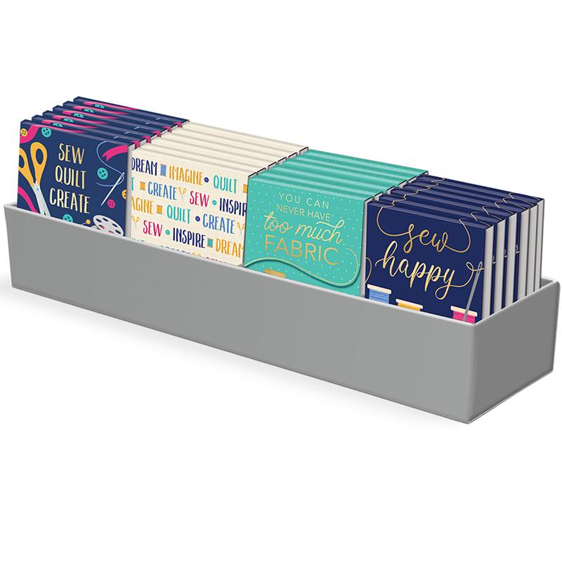 Pocket Notepad Dsply Sew Happy