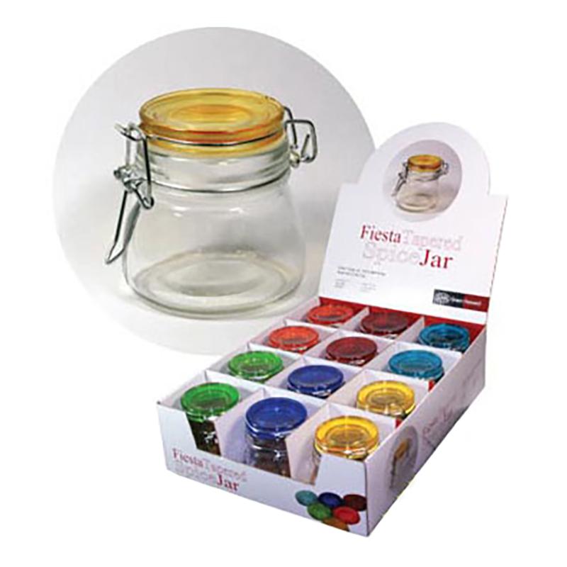 Fiesta Tapered Round Jar 6oz, Color Varies