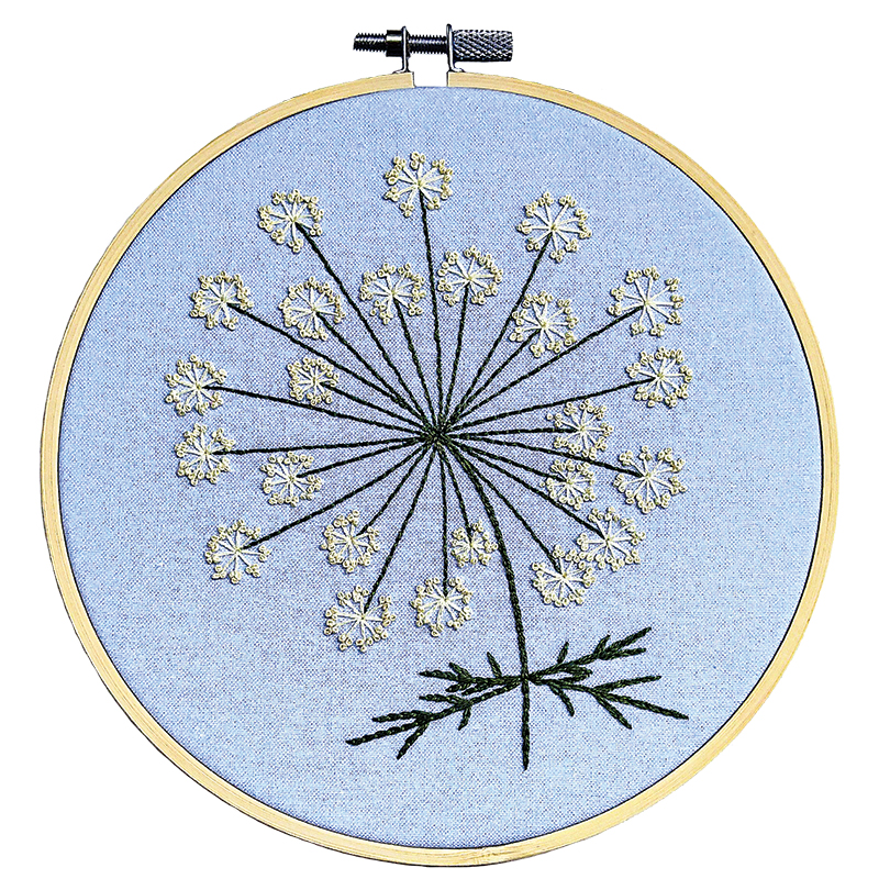 Embroidery Kit QueenAnne's Lace