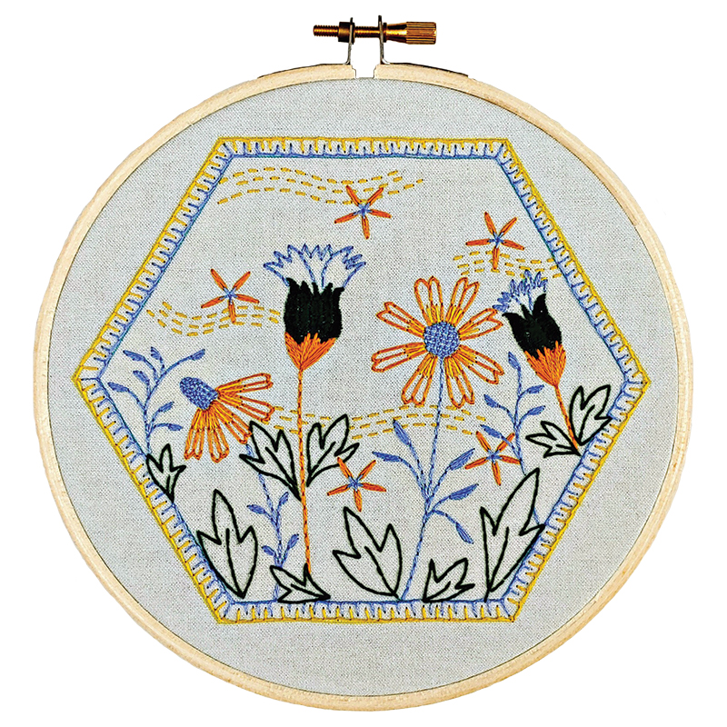 Embroidery Kit Summer Breeze