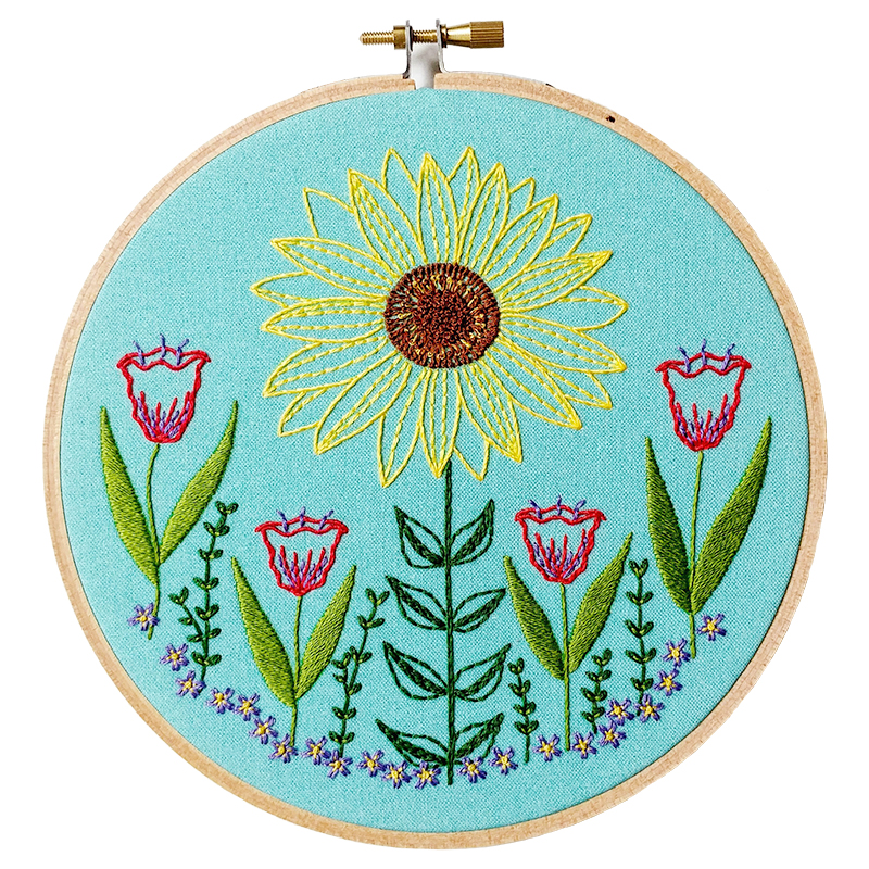 Embroidery Kit Summer Garden